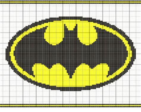 knitting pattern batman logo batman symbol etsy studio