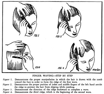 how to do a finger wave on a twa marcel waves and finger waves hairstyles of the 1920s