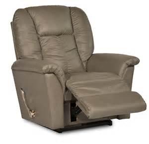 duluth furniture store la z boy jasper leather rocker