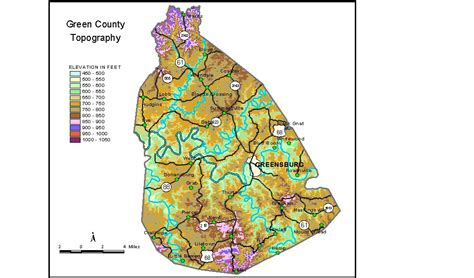 kentucky groundwater map groundwater resources of green county kentucky