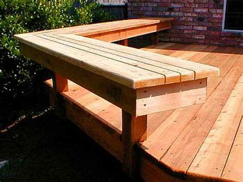 building deck benches planning ideas deck bench plans outdoor deck building
