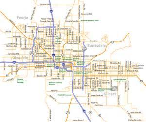Map Of Phoenix Az by City Of Rocks Map Of Arizona