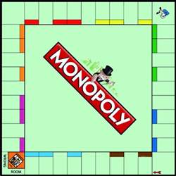 Empty Monopoly Board Template by Blank Monopoly Board By Nic Dooley Teaching