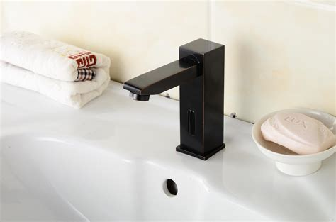oil rubbed bronze sensor faucet bathroom and kitchen faucet oil rubbed bronze bathroom sink tap with automatic sensor