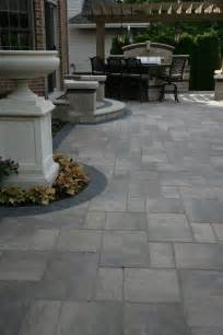 Paver Ideas For Patio Unilock Pavers Decorating Ideas For Patio Traditional Design Ideas With