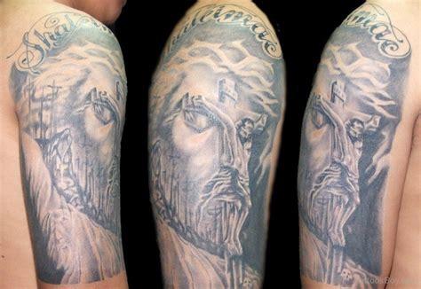 jesus tattoo half sleeve jesus tattoos tattoo designs tattoo pictures page 12