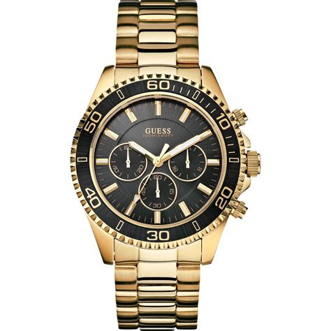 s chaser gold chronograph w0170g2 guess from