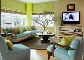blue living room color schemes 25 green living rooms and ideas to match