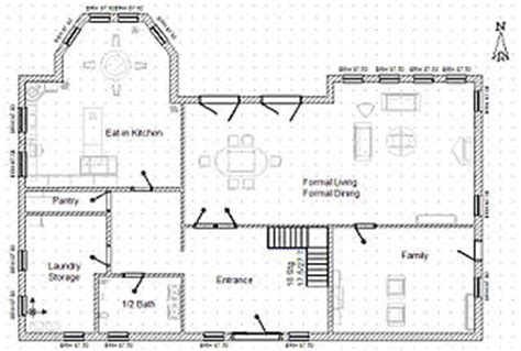 Floor Plan With Perspective House by Floor Plan Wikipedia