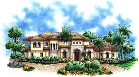 luxury mediterranean house plans mediterranean