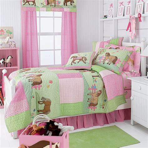 pony bedding pony dreams quilt bedding