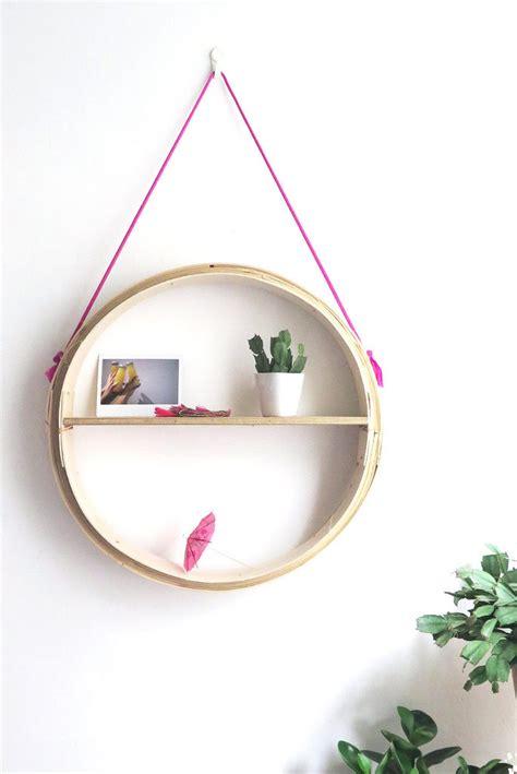 Shelf Hanging Basket by 12 Diy Hanging Shelves For Every Home