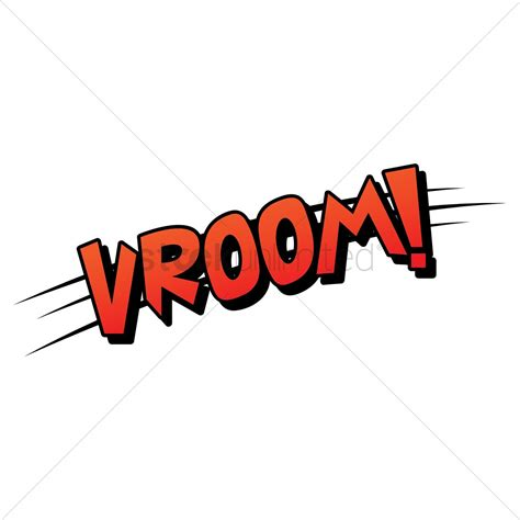 v room vroom comic speech vector image 1825497 stockunlimited