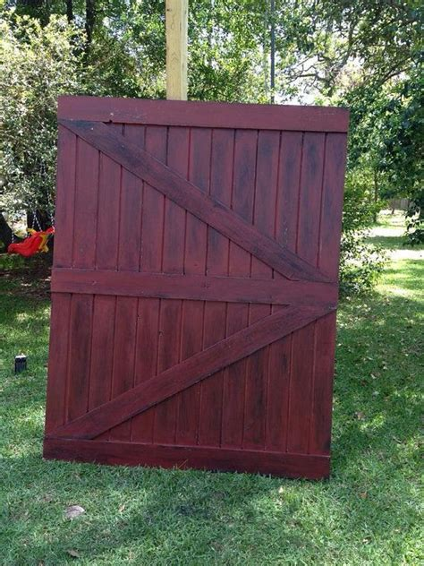 Painted Or Stained Barn Door Painted Barn Doors