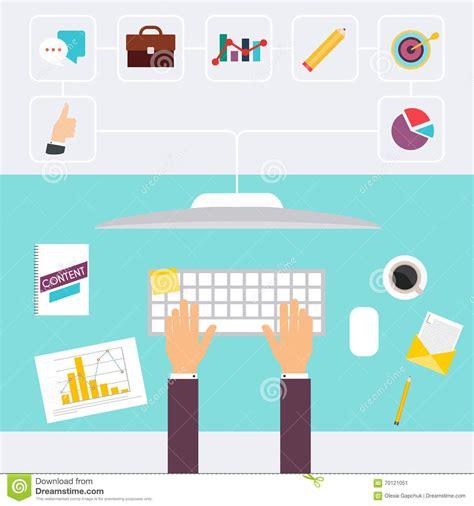 lavoro di ufficio scrittorio e firmare un documento i computer e lavoro di