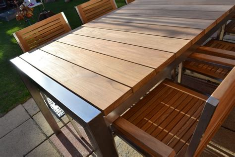 How To Care Modern Teak Outdoor Furniture Bistrodre Modern Teak Outdoor Furniture