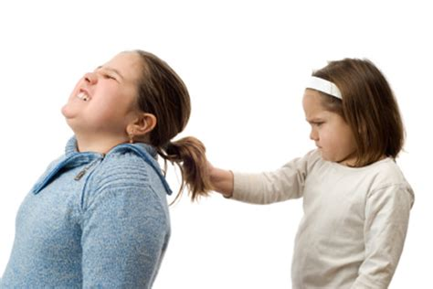 bad behavior sibling fighting