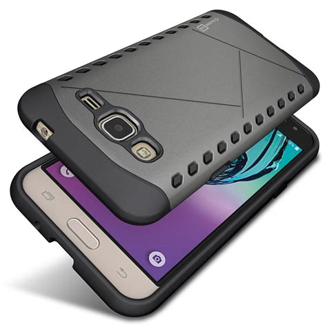 Samsung Galaxy J3 2016 Anti Knock Slim Hybrid Rugged Ar Diskon slim hybrid cover for samsung galaxy j3v j3 v j3 j3 galaxy 2016 ebay