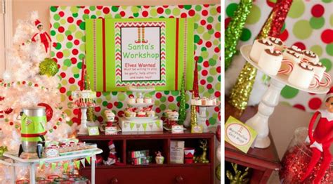 christmas birthday party kara s party ideas