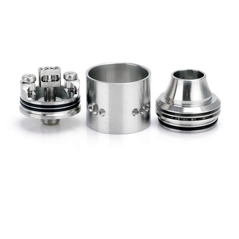 Prometheus Rda Rebuildable Atomizer authentic wismec indestructible silver rda rebuildable atomizer