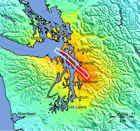 map of whidbey island earthquake whidbey island wa