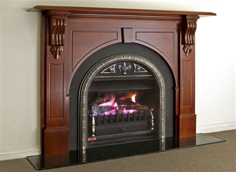Fireplace Surrounds Melbourne by Traditional Fireplace Mantels Australian Gas Log