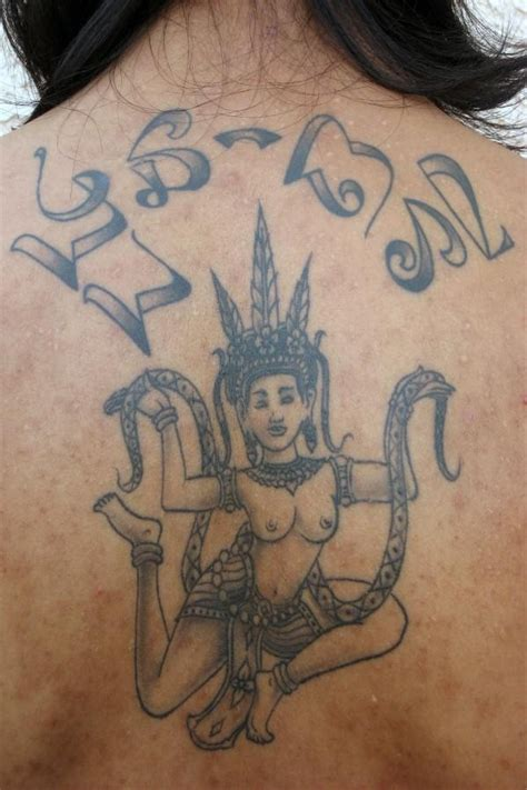apsara khmer tattoos pinterest