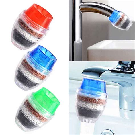 Tap Water Clean Purifier Filter For 16 19mm Faucet Filter Keran Air 1pc coconut carbon home kitchen faucet tap water clean purifier filter cartridge ebay