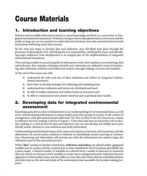 Manual Layout Exles | sle training manual 10 documents in pdf