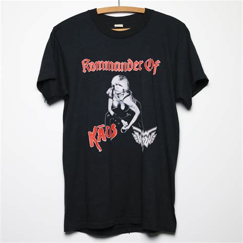 wendy o williams kommander of kaos shirt 1986 wyco vintage