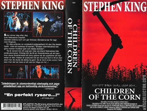 the cornfield books children of the corn vhscollector your analog