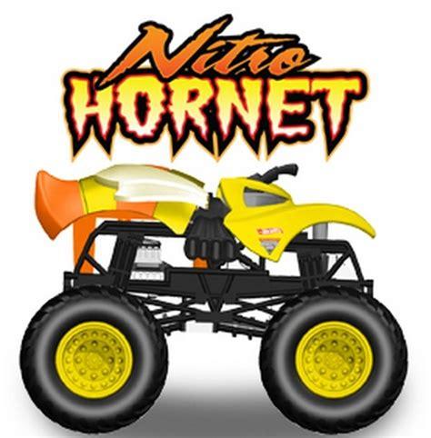 nitro hornet monster truck amazon com wheels monster jam nitro hornet 1st