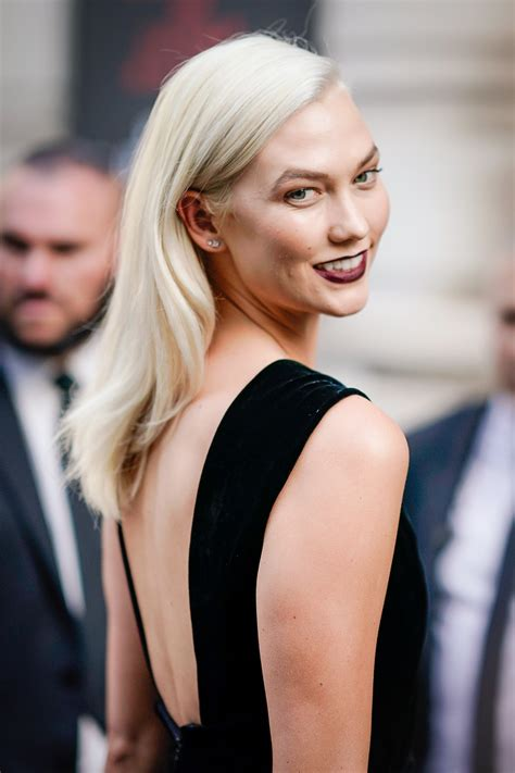 Color Shade by Karlie Kloss Now Has Platinum Hair Instyle Com
