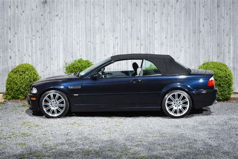 used bmw m3 convertible 2002 bmw m3 convertible 6 speed manual stock 13 for sale
