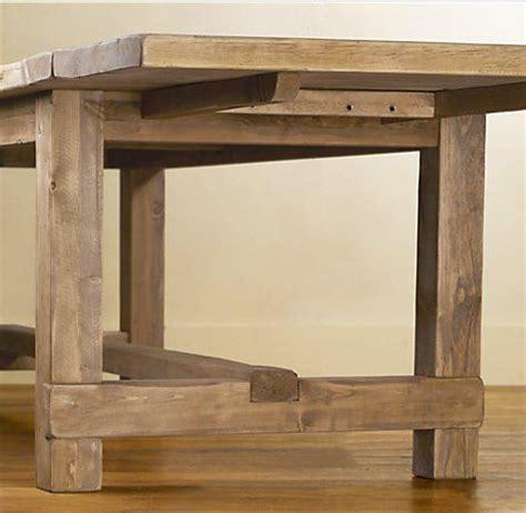 copy  farmhouse extension table plans  restoration