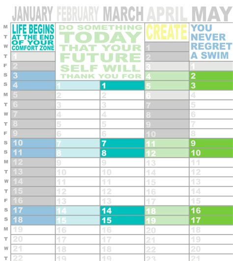 dirtbin designs free printable 2015 year planner by dirtbin designs free printable 2015 year planner by