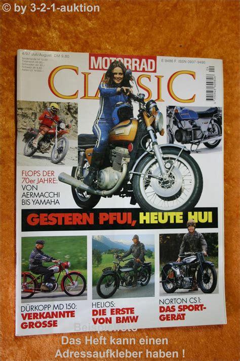 Motorrad Classic 4 by Motorrad Classic 4 97 D 252 Rkopp Md 150 Helios Norton Cs1
