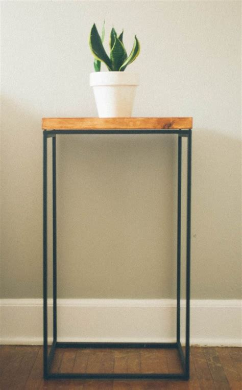 ikea end table hack ikea hack side table diy projects pinterest