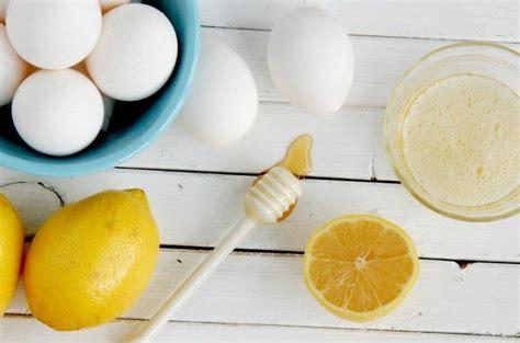 diy egg mask eggs and lemon elixir for bones and immunity recipe