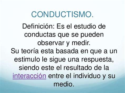 definicion imagenes mentales psicologia teor 237 a del conductismo