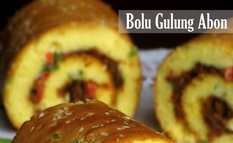 ordinary kitchen bolu gulung abon