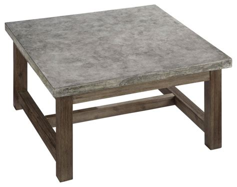 transitional style coffee table concrete square coffee table transitional outdoor