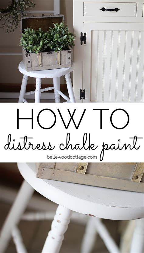 chalk paint not distressed how to distress chalk paint 7 helpful tips bellewood
