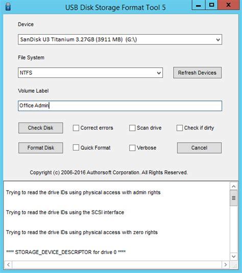 format usb flash drive to fat fat16 not fat32 fat32 format download