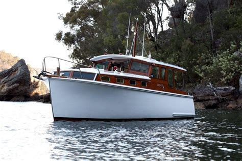 fishing boats for sale nsw australia halvorsen motor cruiser for sale timber new south