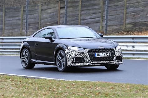 The New Audi Tt by Audi Tt Facelift Spied On The N 252 Rburgring Evo