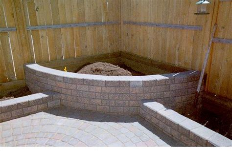brick flower bed flower beds designs brick pdf