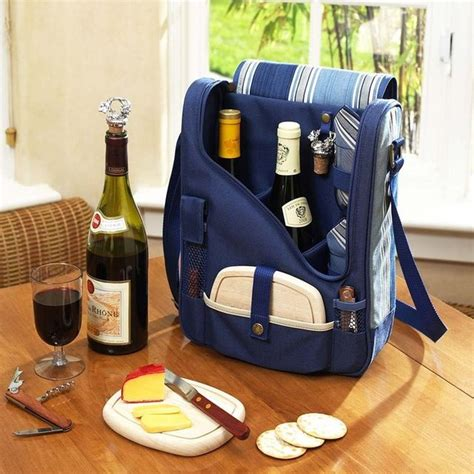 Backpack Dc 2in1 fancy wine cheese cooler picnic backpack