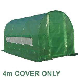 Rabbit Hutches Covers Pt4 Replacement 4 X 2 X 2m Cover For Polytunnel Garden