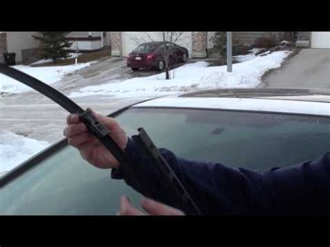 how to replace honda accord ex l v6 windshield wiper blade